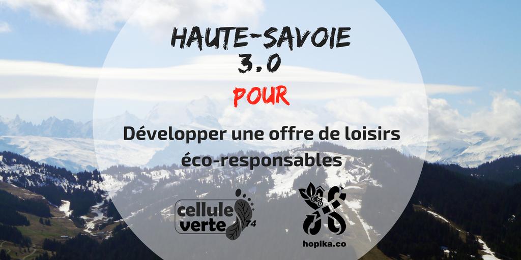 haute savoie 3 0 loisirs - Haute-Savoie 3.0 : production, consommation et loisirs écocitoyens - Hopika - Tourisme éco responsable en Haute-Savoie