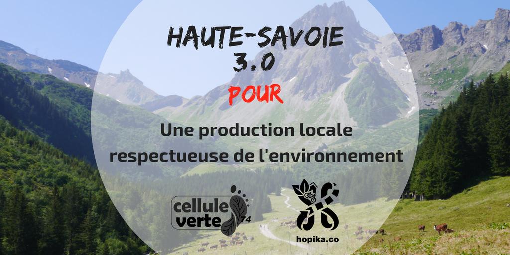 haute savoie 3 0 production - Haute-Savoie 3.0 : production, consommation et loisirs écocitoyens - Hopika - Tourisme éco responsable en Haute-Savoie