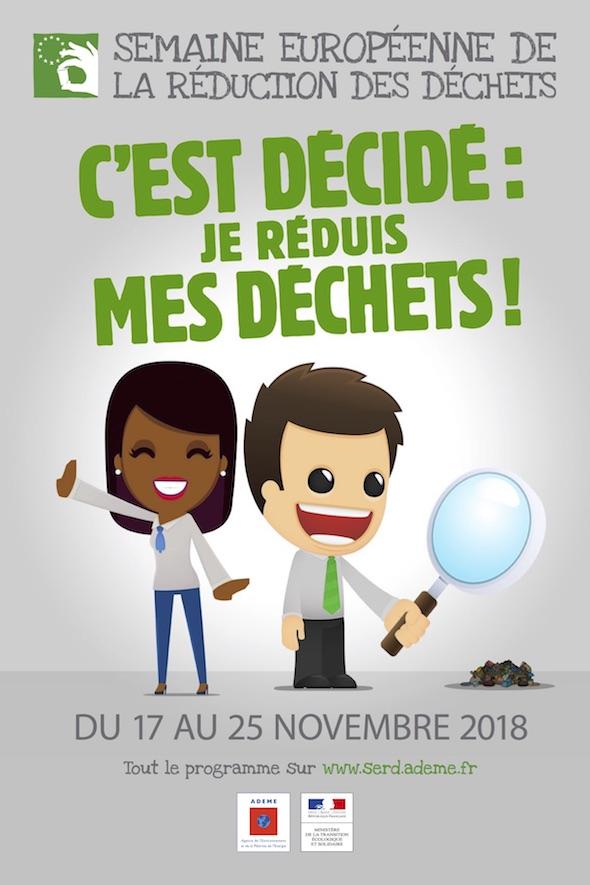Affiche de la Semaine Européenne de la Réduction des Déchets
