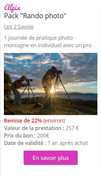bon avec remise - Vos Bons Prépayés - Hopika - Le guide des sorties eco-friendly sur les 2 Savoie et aux alentours